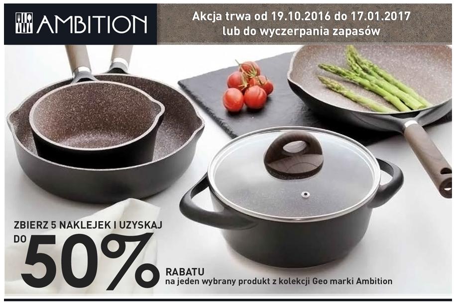 Wyjątkowa akcja promocyjna w Carrefour! Produkty GEO do 50% taniej!