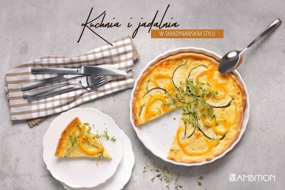 Kuchnia i jadalnia w skandynawskim styluKuchnia i jadalnia w skandynawskim stylu