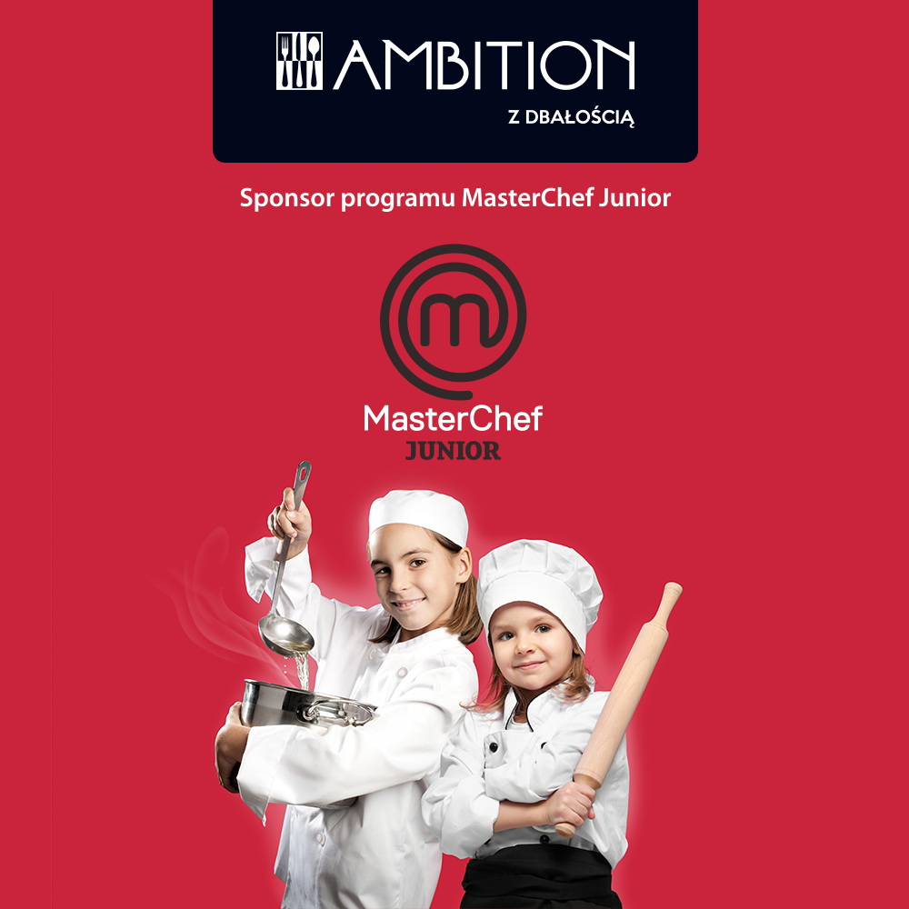 Marka Ambition sponsorem kulinarnego show Master Chef Junior!